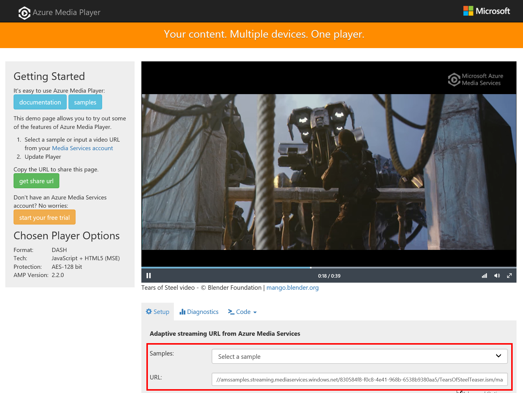 Tip 178 - A Lap Around Azure Media Player | Azure Tips and