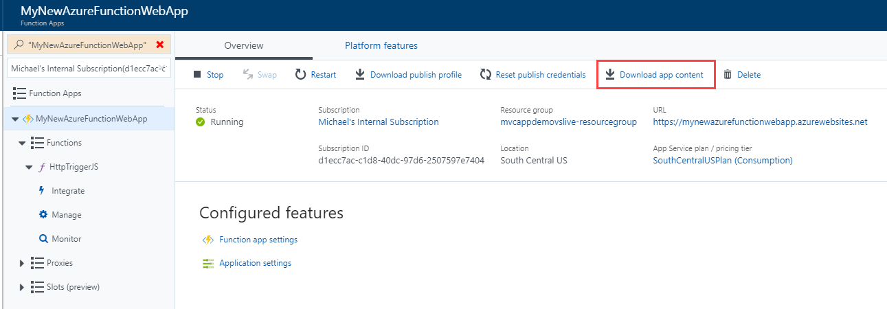 Tip 63 - Open an existing Azure Function in Visual Studio