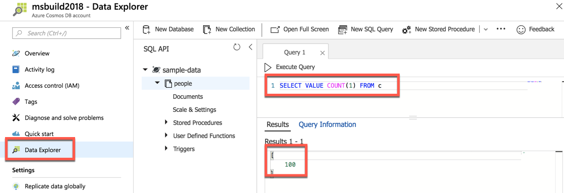 Tip 152 - Get the Record Count in Cosmos DB | Azure Tips and