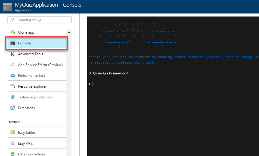 Tip 20 - Working with Files in Azure App Service | Azure Tips and Tricks