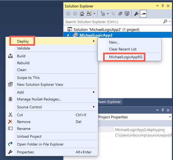 Tip 44 - Deploying Azure Logic App through Visual Studio