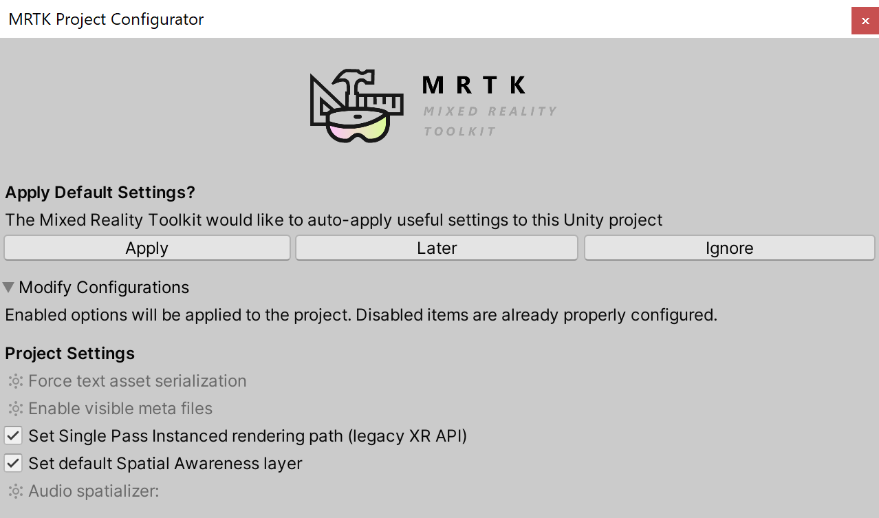 Getting Started with MRTK | Mixed Reality Toolkit Documentation