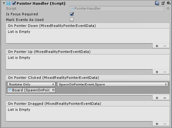 Pointers | Mixed Reality Toolkit Documentation