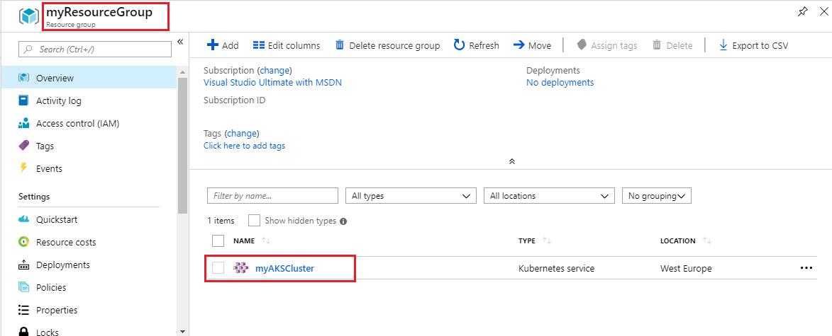 PartsUnlimited : Deploy Application to Azure Kubernetes Service