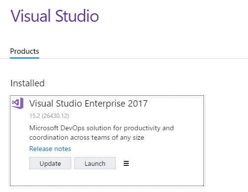 PartsUnlimited : Setup SSDT and Sample db with Visual Studio