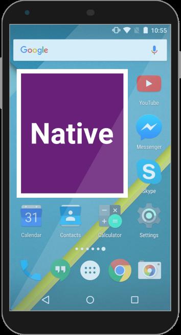 Project Ace - Cordova Plugin for Native UI