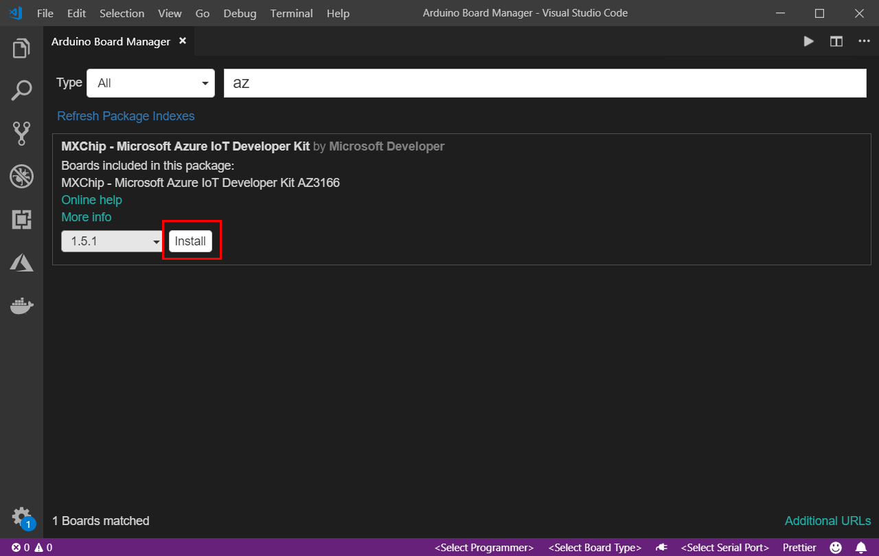 Install DevKit SDK
