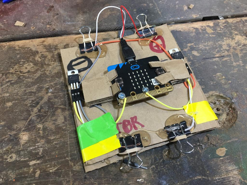 Microbit Relay Cardboard Circuits Circuit Project A Module