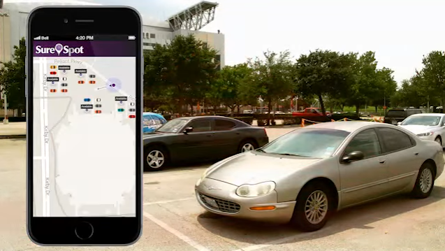 Using Power BI to provide reports for SureSpot's personal parking