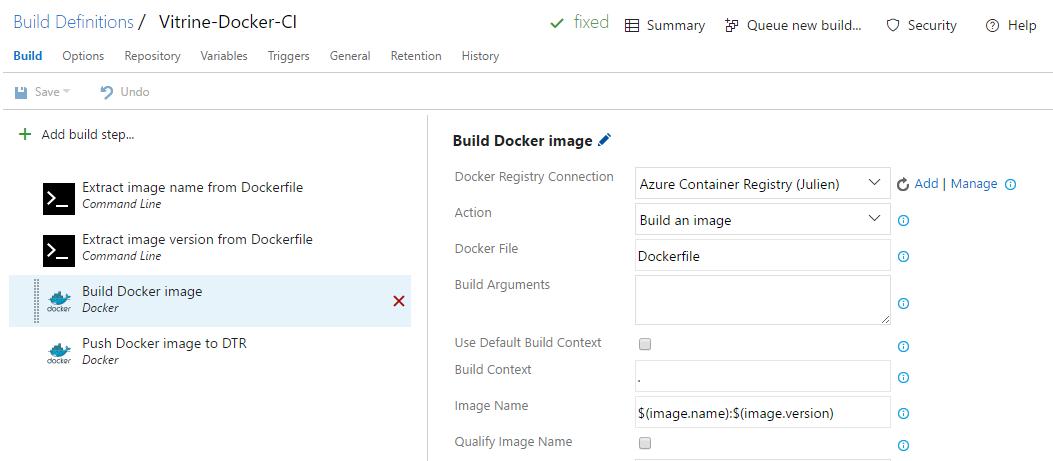 Build Docker image