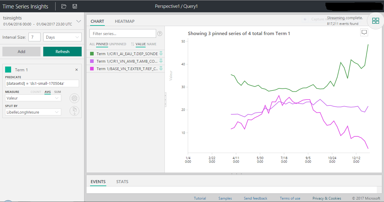 Time Series Insights screenshot #1