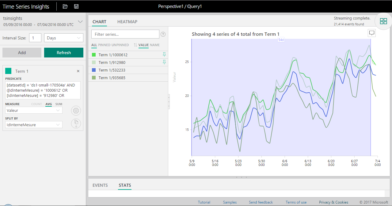 Time Series Insights screenshot #3