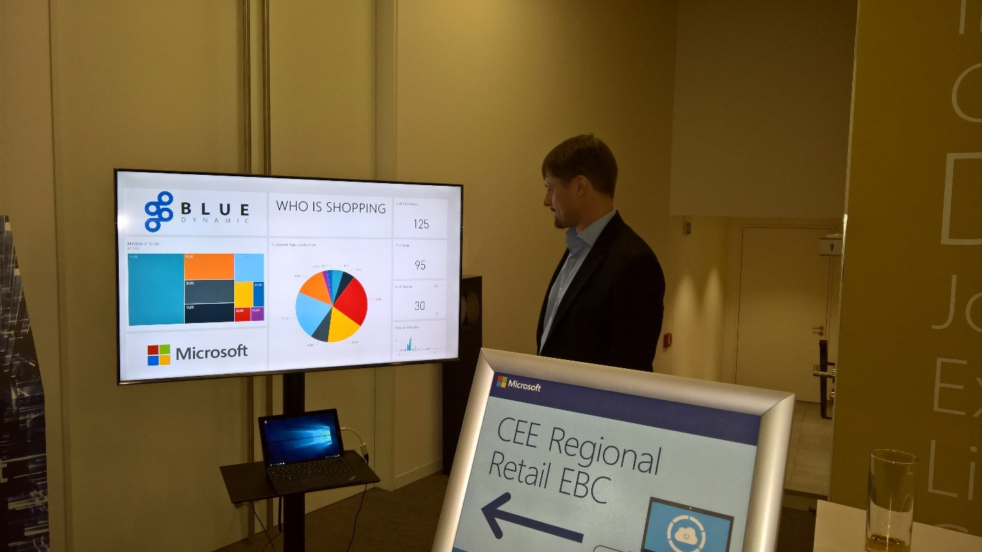 Demo on CEE Regional Retail EBC conference