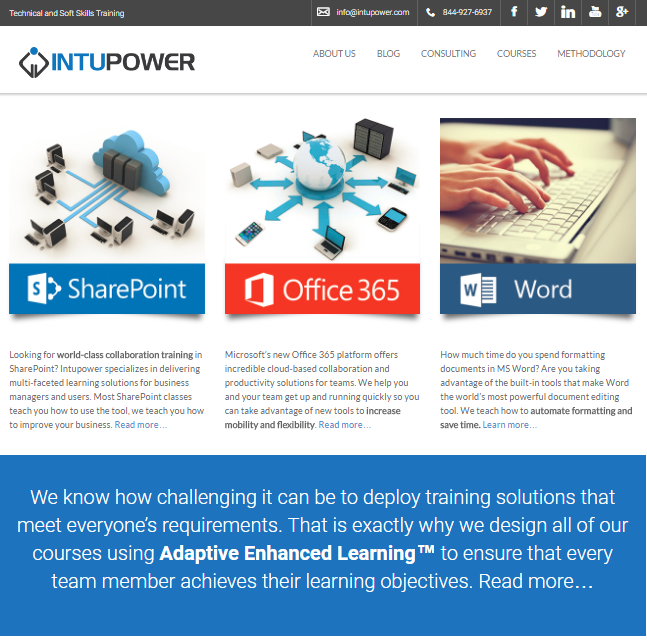 IntuPower website