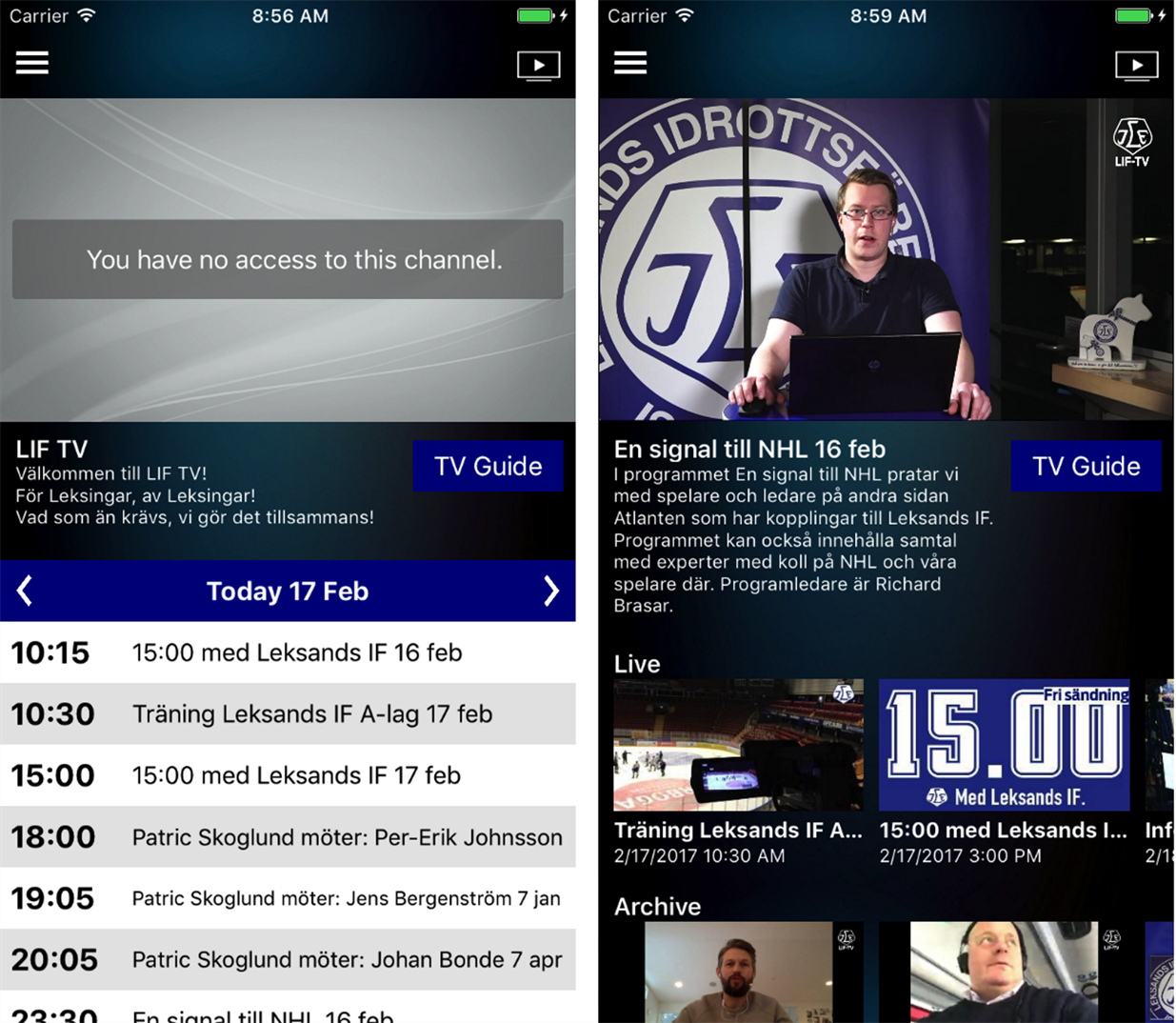 building white-labeled livearena video-streaming apps for mobile, Presentation templates
