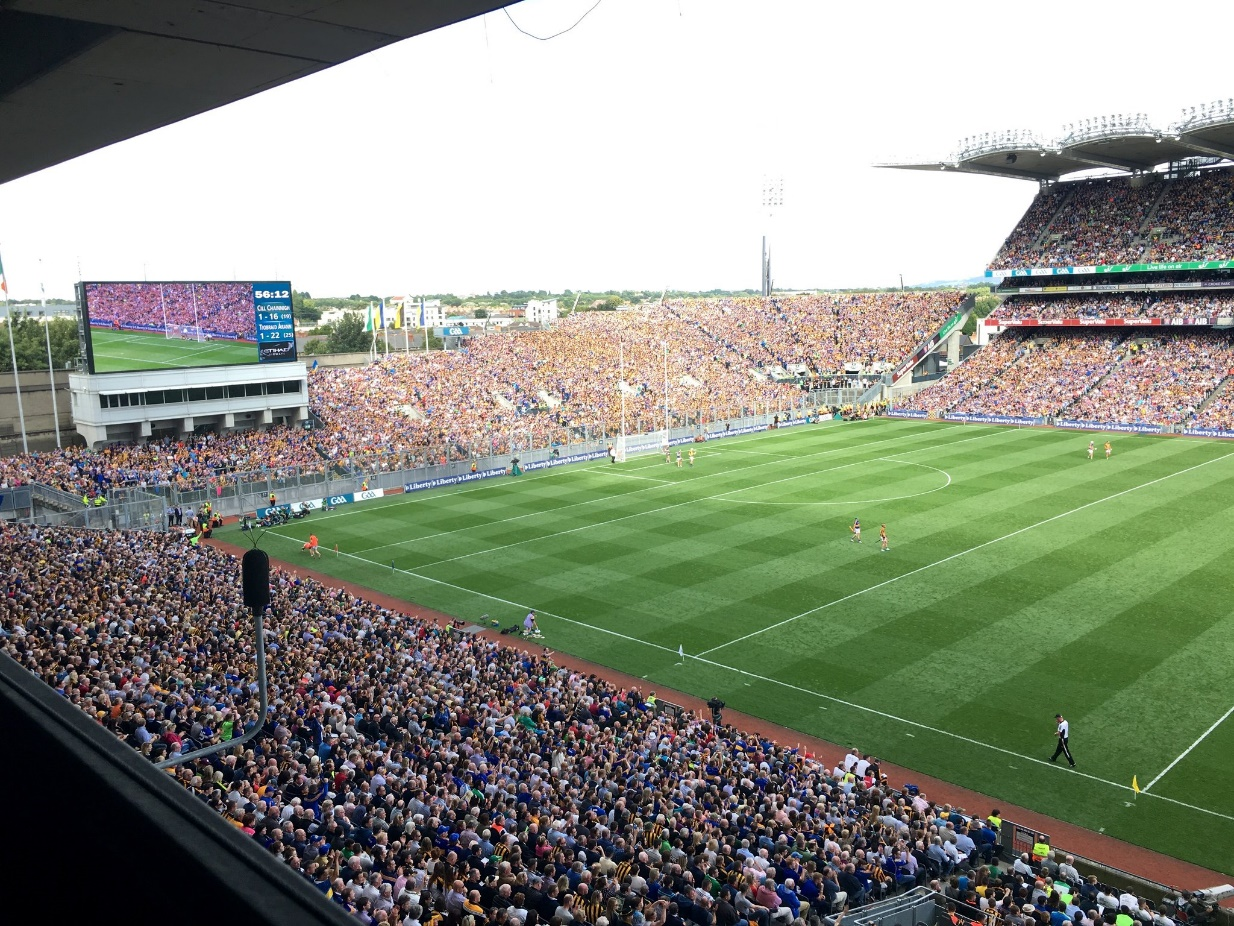 Croke Park: Sound and weather data monitoring within a smart