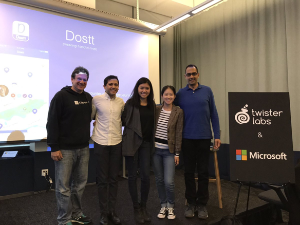 Twister Labs and Microsoft